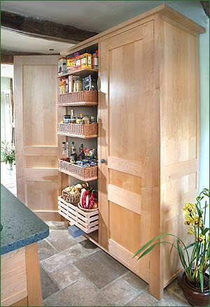 Cupboard In The Kitchen